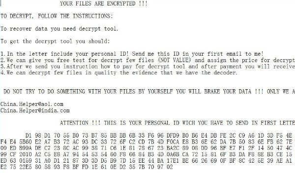 「.0x4444」「.snake4444」拡張子に暗号化するGlobelmposter3.0ランサムウェア