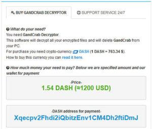 「.GDCB」拡張子のGandCrabランサムウェアの国内感染を確認