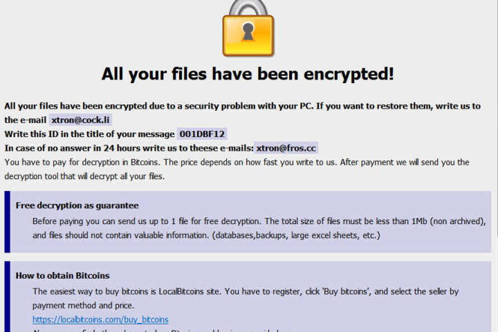 「.com」「.NWA」拡張子に暗号化するDharmaランサムウェア