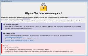 「.payday」拡張子のBTCwareランサムウェアが国内で感染確認されました。