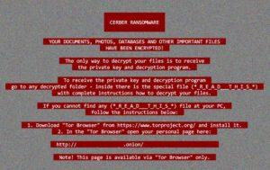 Cerber6.1.1ランサムウェア、身代金を払っても復号できない場合の復号サービス・復元サービス