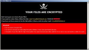 「.Jessy」「.ROG」「.biden」「.eofyd」「.duk」「.LAO」「.pirat」拡張子に暗号化するDharmaランサムウェア
