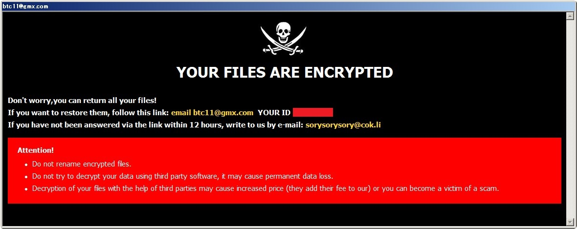 Dharma Ransomware
